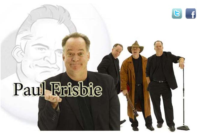 Chicago Comedian Paul Frisbie